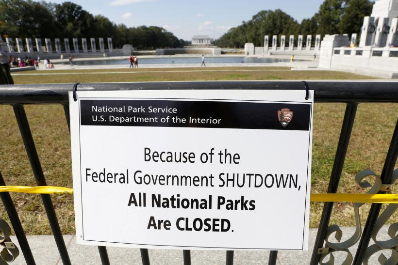 US Gov Shutdown National Parks 1Oct2013