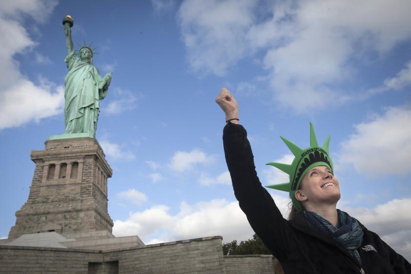 Statue of Liberty Reopened
