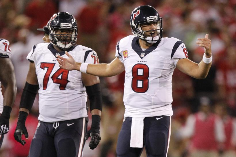 Houston Texans Matt Schaub