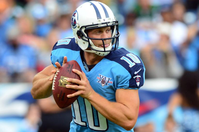 Jake Locker Tennessee Titans