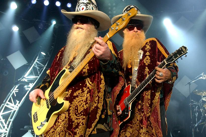 ZZ Top onstage