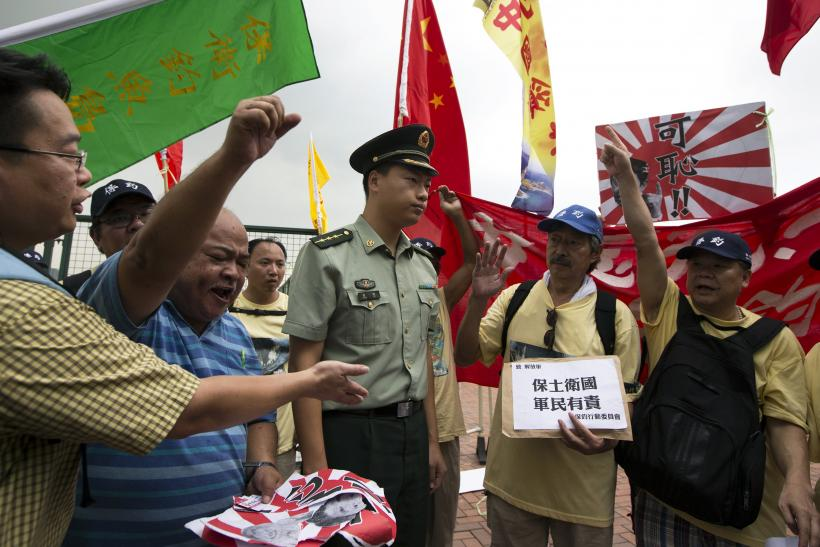 Chinese protest against Japan