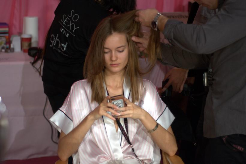 Victoria's Secret Fashion Show Backstage