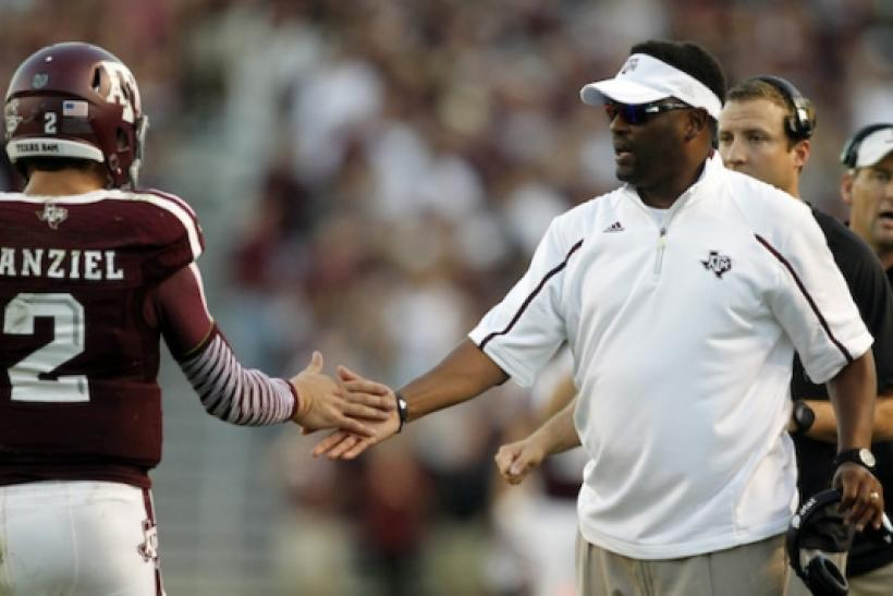 sumlin kevin texas football jimbo fisher mack coach brown longhorns candidates briles replace ibtimes
