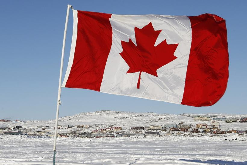 Canadian Flag in Nanavut 2