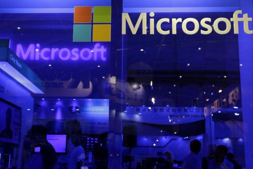 Microsoft profited from strong sales of its commercial products during Q2 2014.