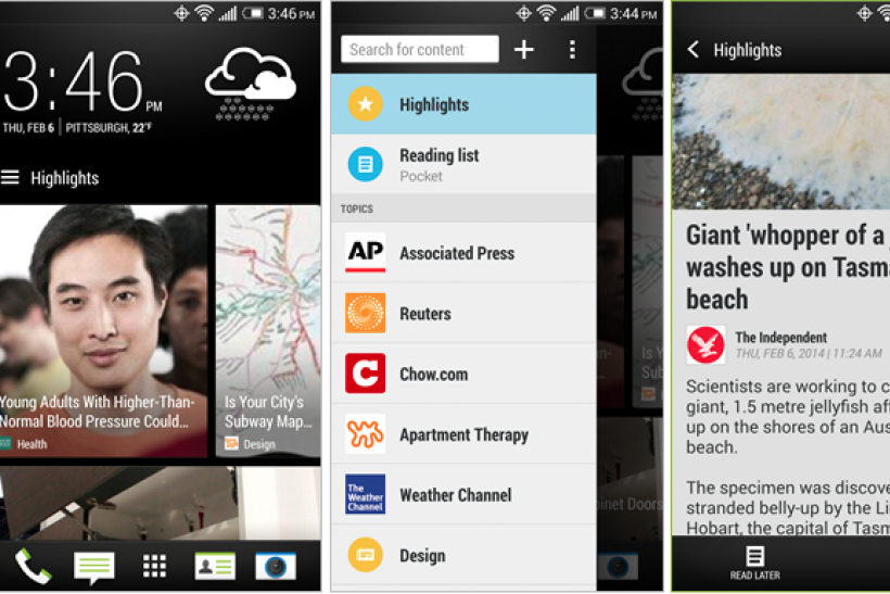 htc one android 44