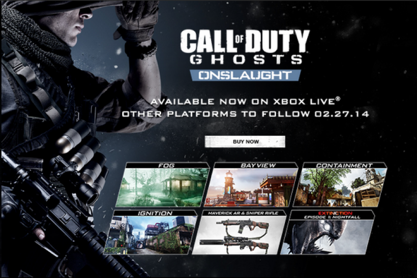 Call of Duty Ghosts Onslaught Release Date PS3 PS4 PC Review