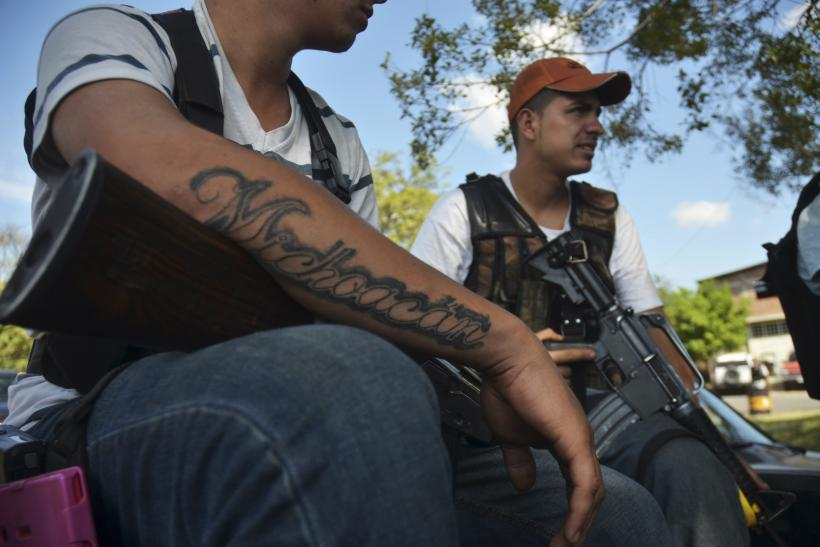 Michoacan cartel fights