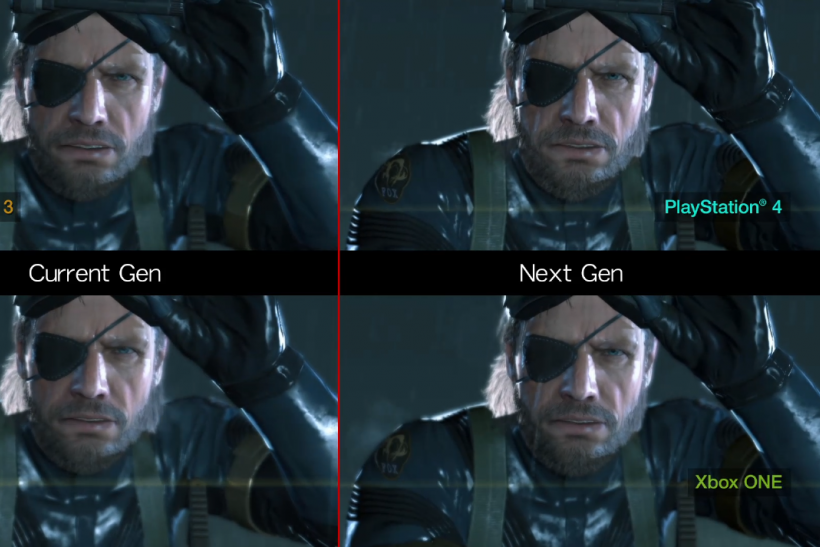 Konami 4 way comparison MGS V Ground Zeroes