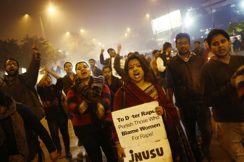 Protests against Delhi Gang Rape