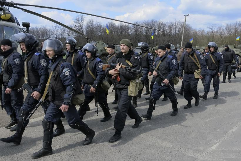 Ukraine Military Troops