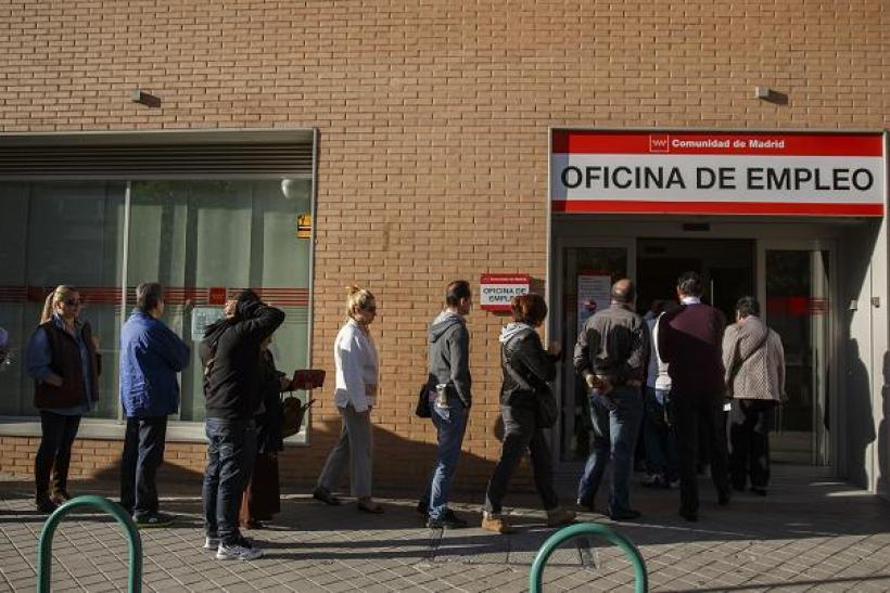 Spain unemployment off 29April2014 2