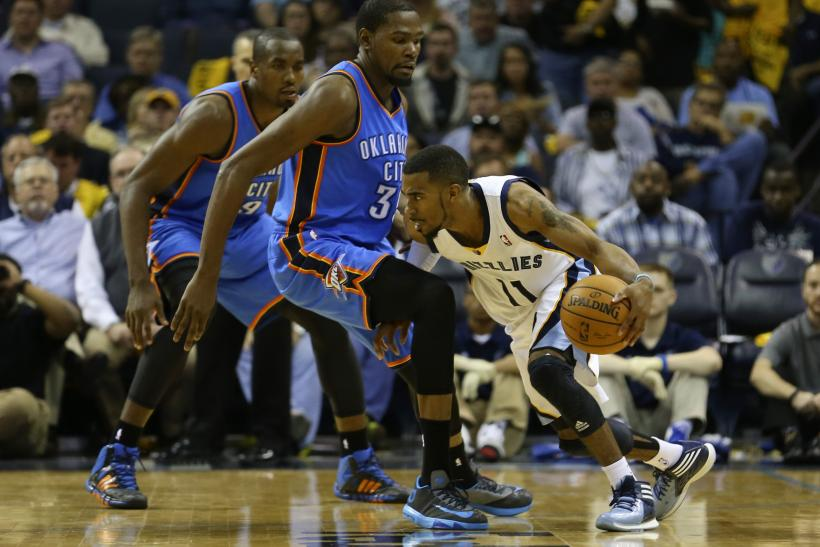 Kevin Durant Thunder Mike Conley Jr. Grizzlies