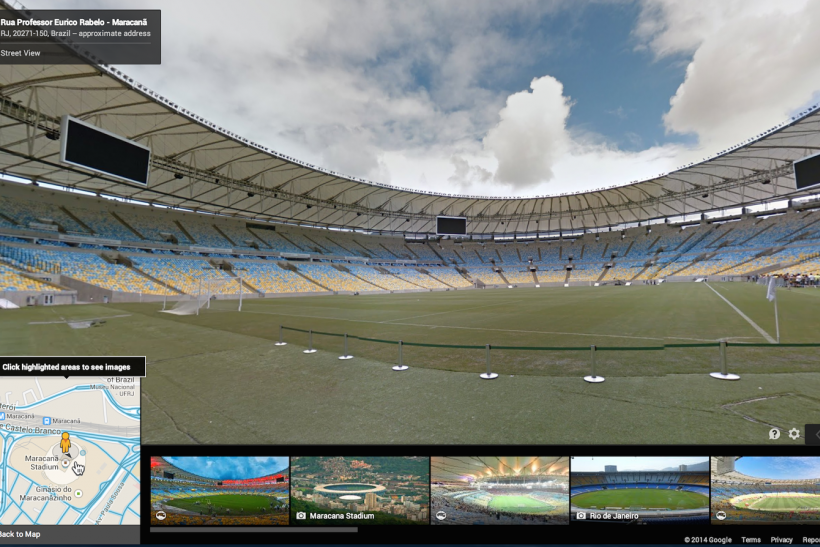 Google Maps World Cup Street View