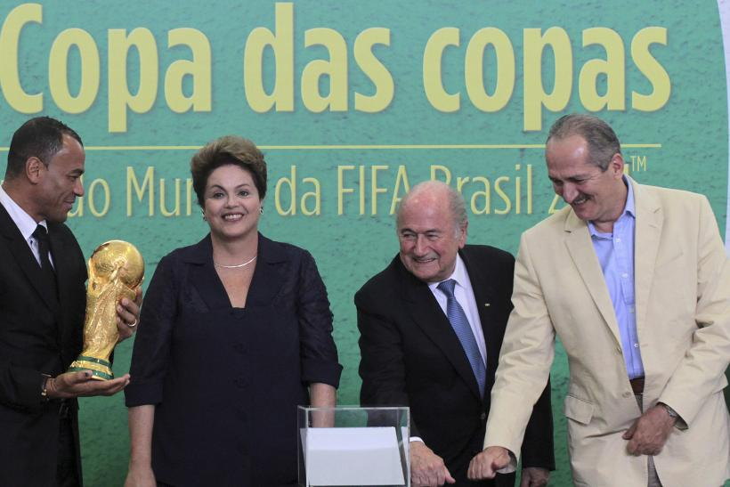 Dilma Rousseff World Cup