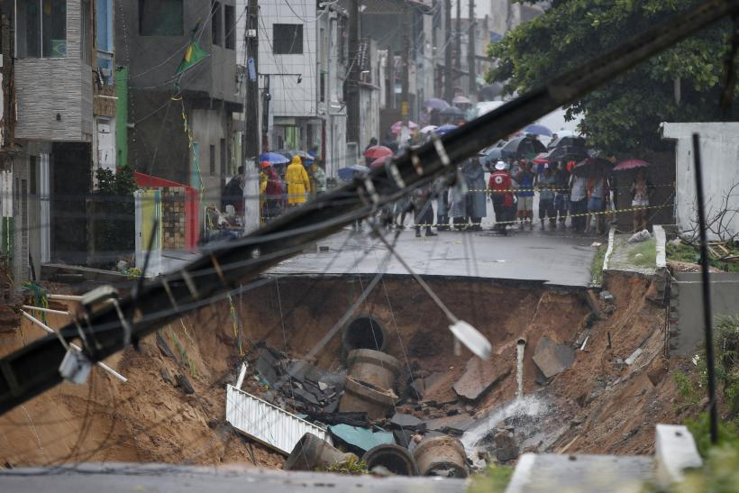 World Cup Sinkhole In Natal