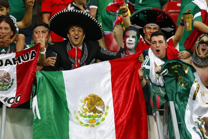 Mexican Fans_World Cup 2014
