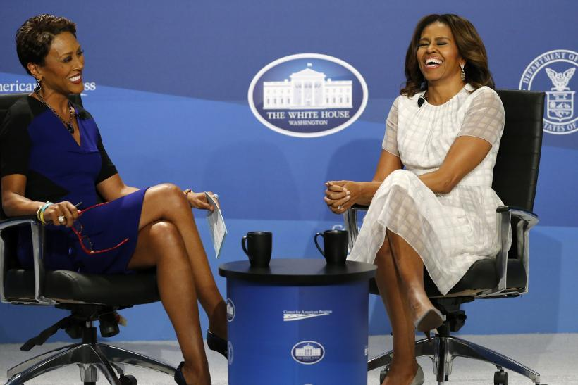 Robin Roberts and Michelle Obama