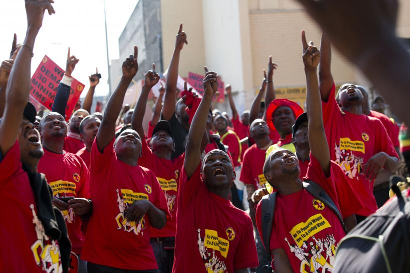 South Africa NUMSA Strike