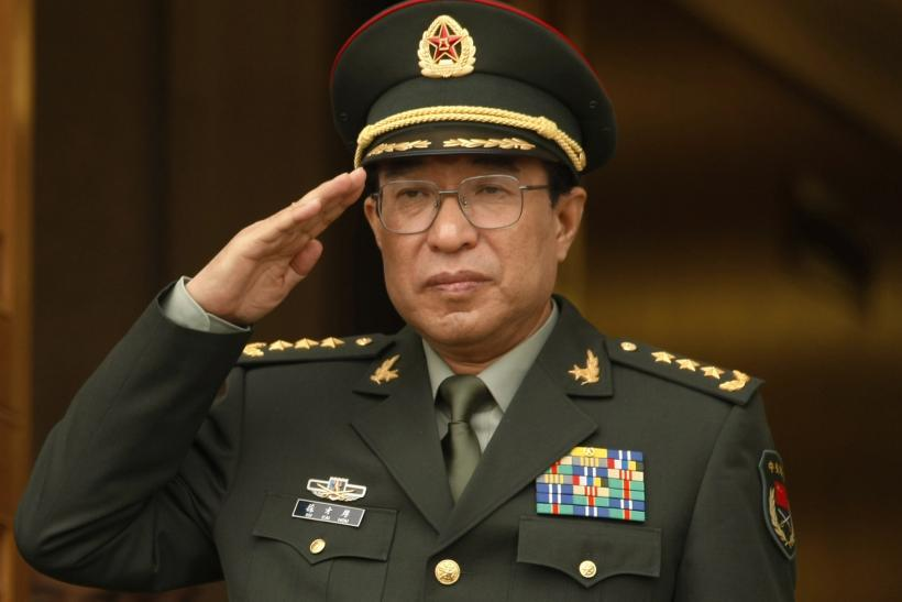Xu Caihou, China's Central Military Commission