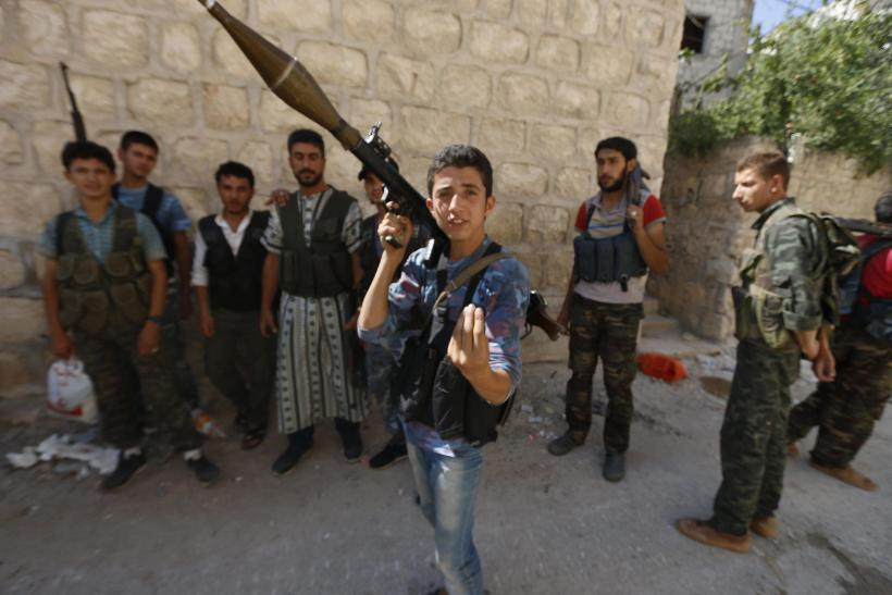 Free Syrian Army member
