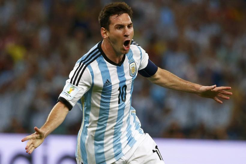 Lionel Messi Argentina World Cup 2014