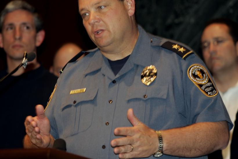 Gwinnett county police chief Charles Walters