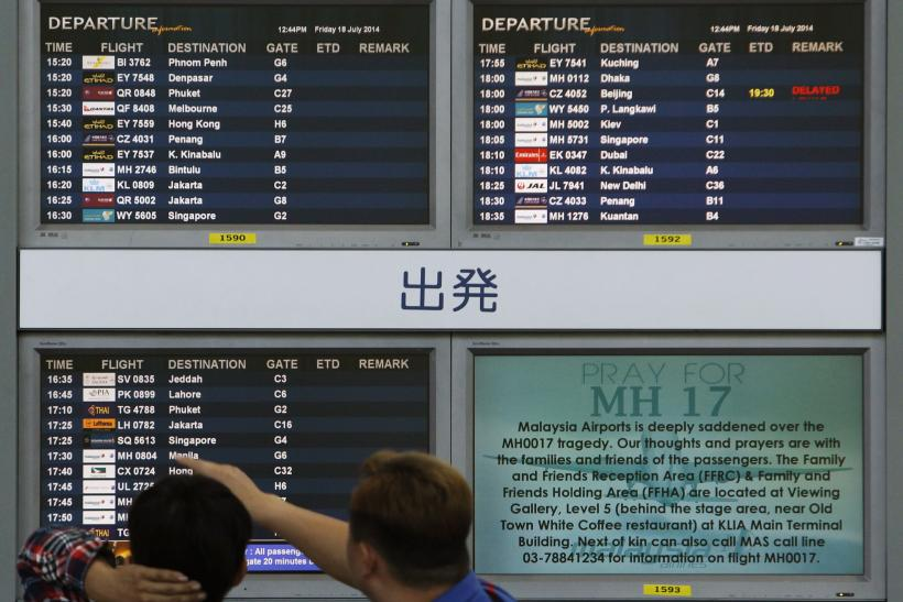 Malaysia Airline planes rerouted