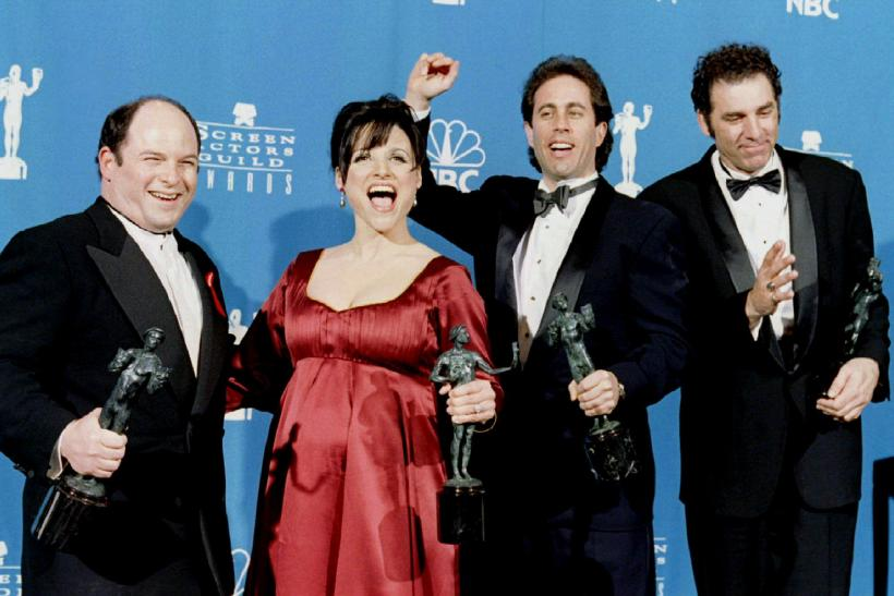 Seinfeld cast at awards show