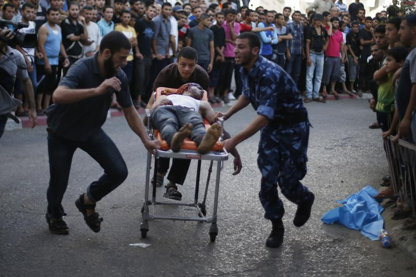 Palestinian wounded