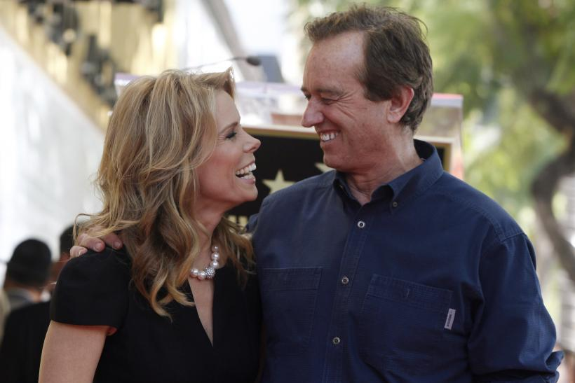 Cheryl Hines and RFK Jr