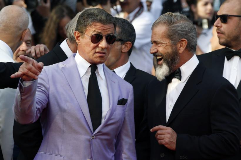 Stallone, Mel Gibson at Expendables 3 premiere