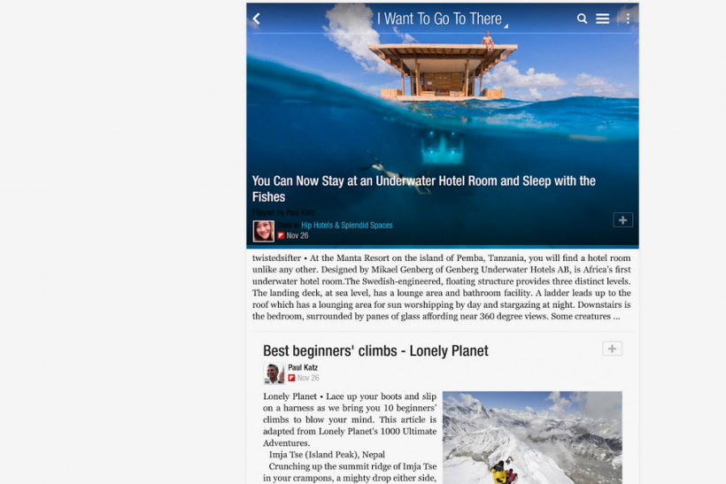 Flipboard app magazine review mike mccue