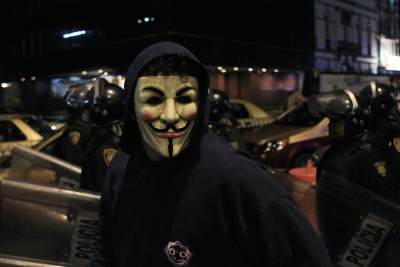 What Is Anonymous? 'Hacktivist' Involvement In Mike Brown ...