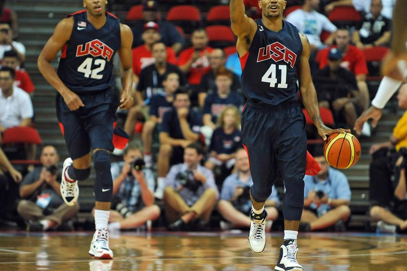Anthony Davis, Derrick Rose Team USA