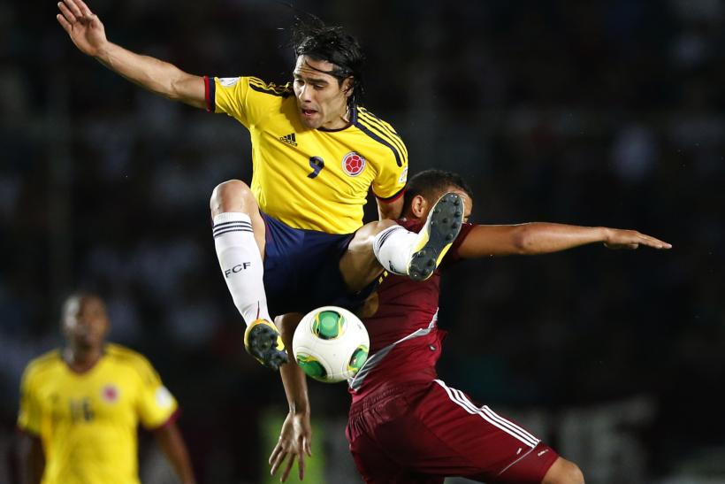 Radamel Falcao Monaco Colombia