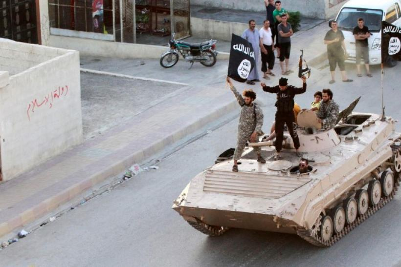 ISIS tank in Syria