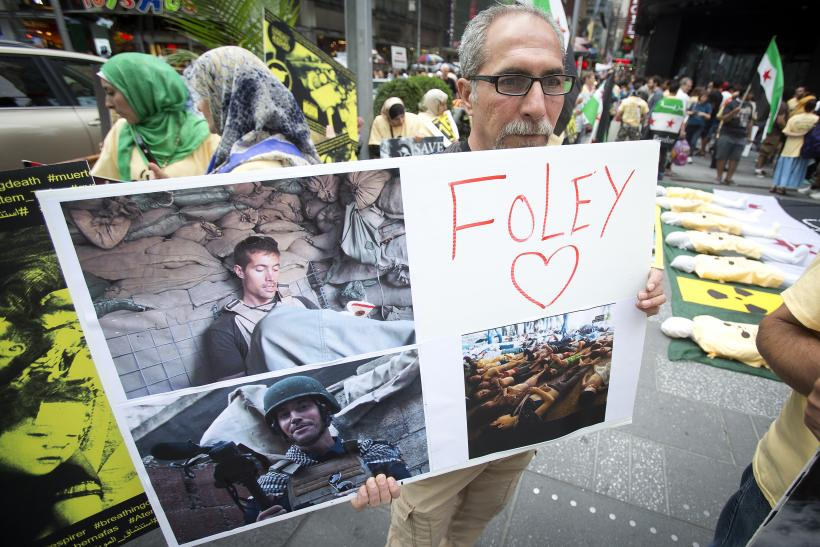 James Foley tribute