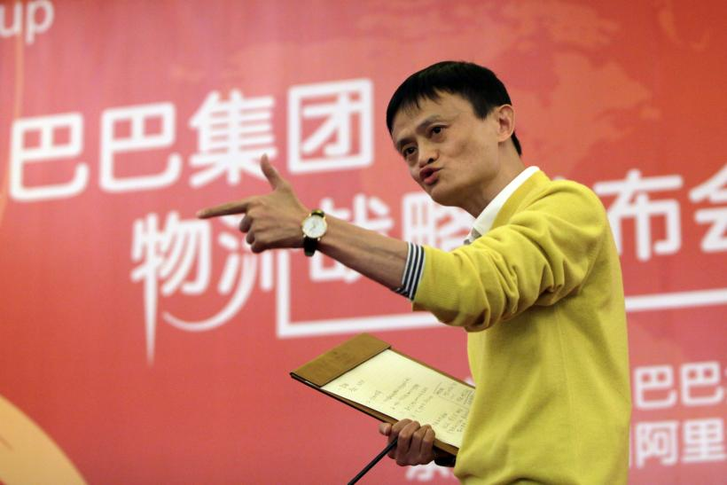 Jack Ma, founder of Alibaba and richest man in China