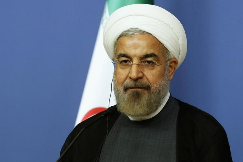 Iran's President Hassan Rouhani, June 9, 2014