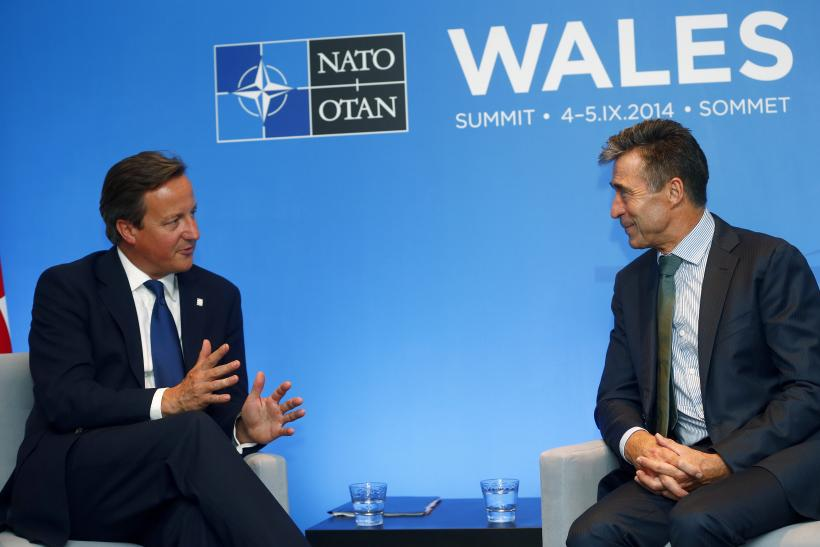 NATO summit, David Cameron, Anders Fogh Rasmussen