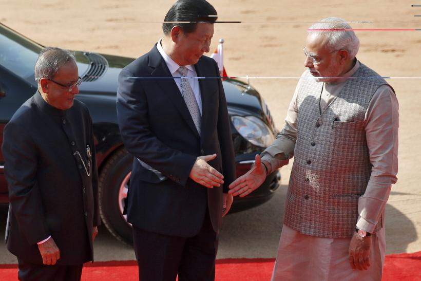 Xi Jinping in India_Sept2014