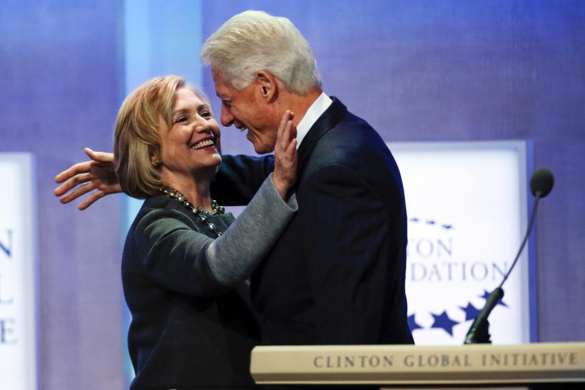 Hilary and Bill Clinton