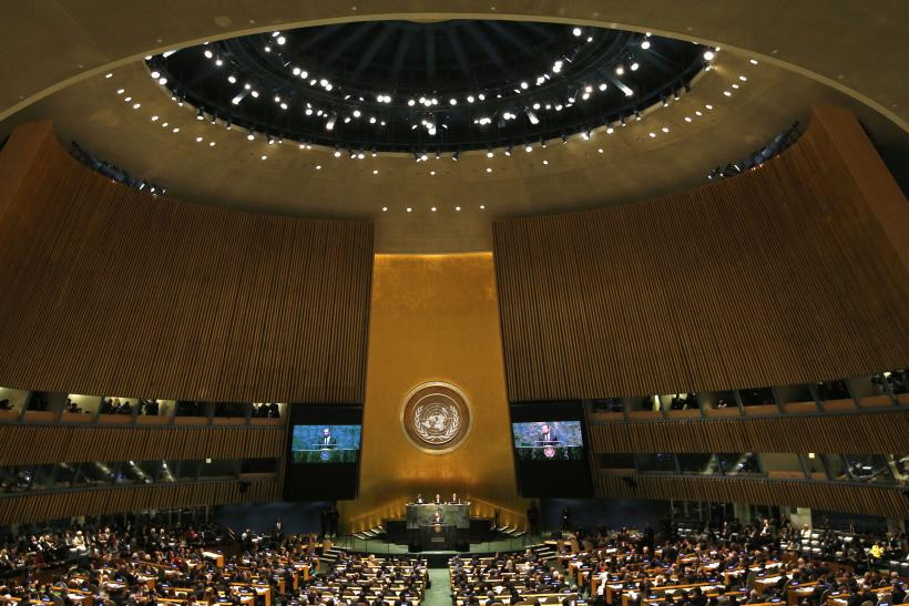 UN Climate Summit Opening Session