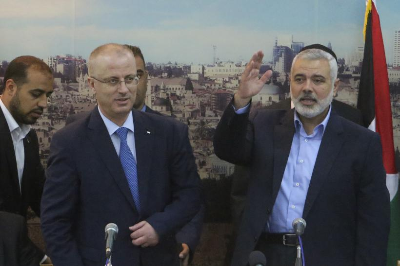 Palestinian Cabinet Meets In Gaza
