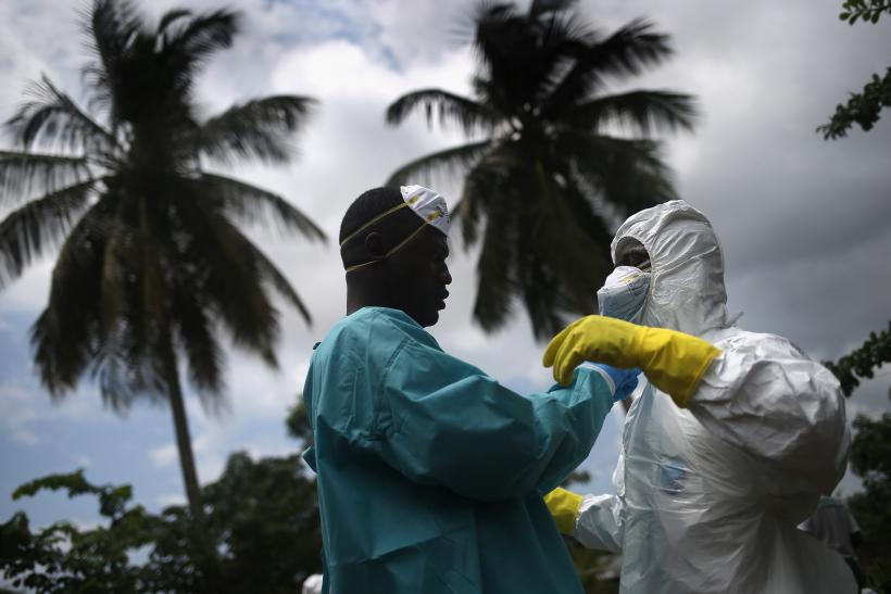 Ebola cases doubling