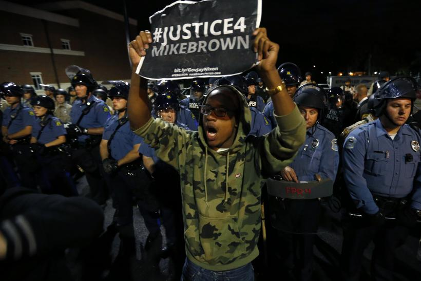 Ferguson October Protests