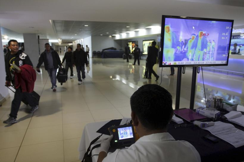 Ebola screening in airports