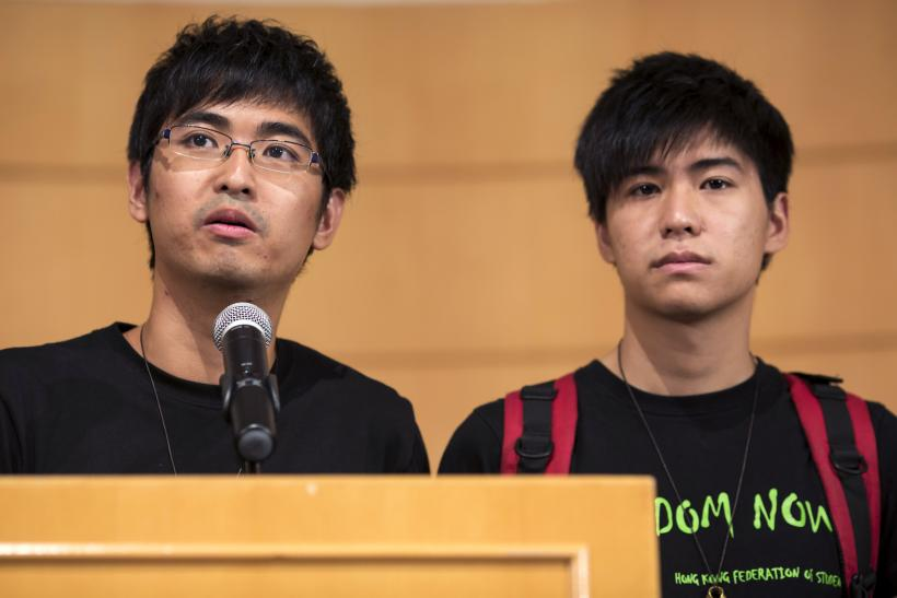 Hong Kong student protest leaders